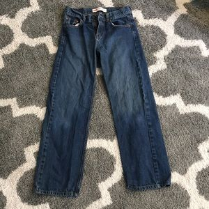 Levi's 550 relaxed straight leg girls size 14